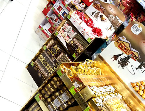 Christmas POS Displays – Excellent Examples by Global Chocolate Brands