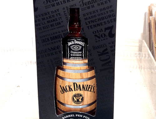 Creative Whiskey Gifts – Barrel Pen Pot by Jack Daniel's