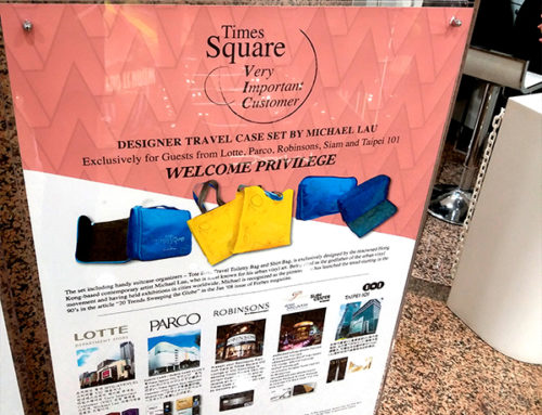 Artist Designed Travel Cases as Exclusive Gifts for Travelers in HK