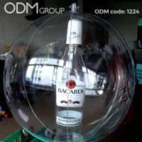 Custom Beach Ball With Bottle for Successful Drinks Marketing
