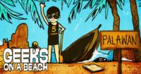 Hashtag Tracking - Geeks On A Beach event Philippines