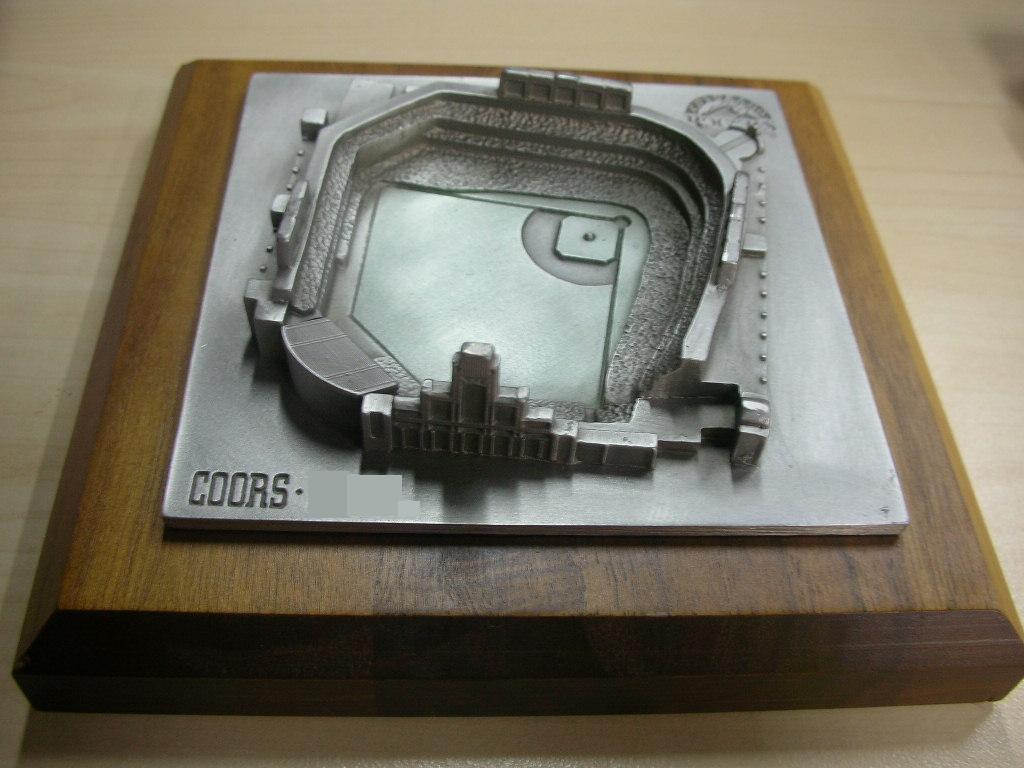 Coors Stadium Replica
