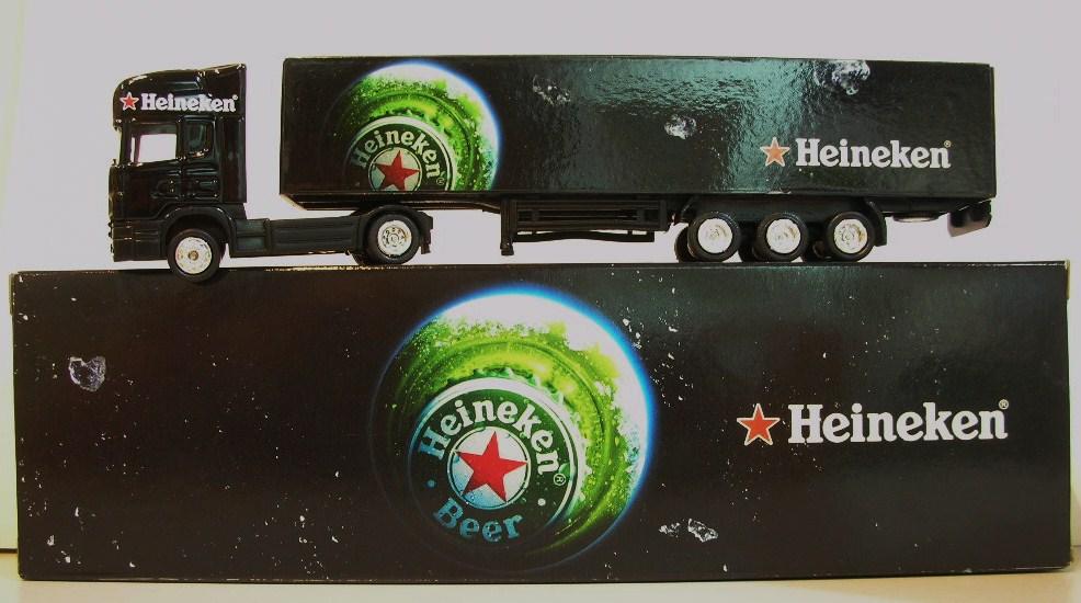 Heineken Toy Truck