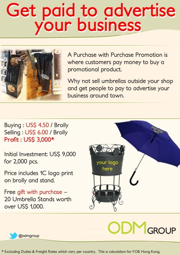 Purchase with Purchase Promotion