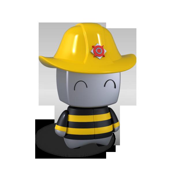 Robot - fireman