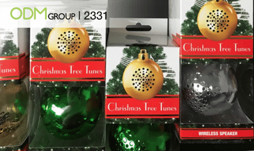 Unique Selling Point Christmas Bluetooth Speaker