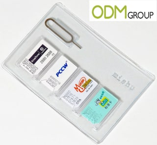Promotional SIM Card Holder