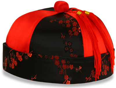 Promotional Chinese traditional hat costume
