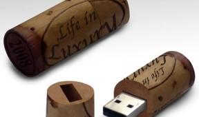 Promotional Wine Cork USB