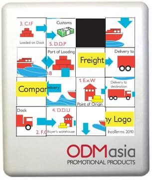 Promotional Puzzles for Incoterms