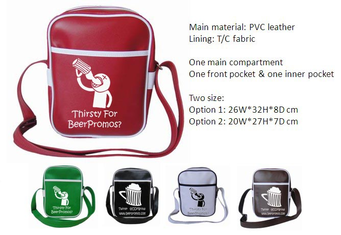 fashion shoulder bag promotional product sarobag