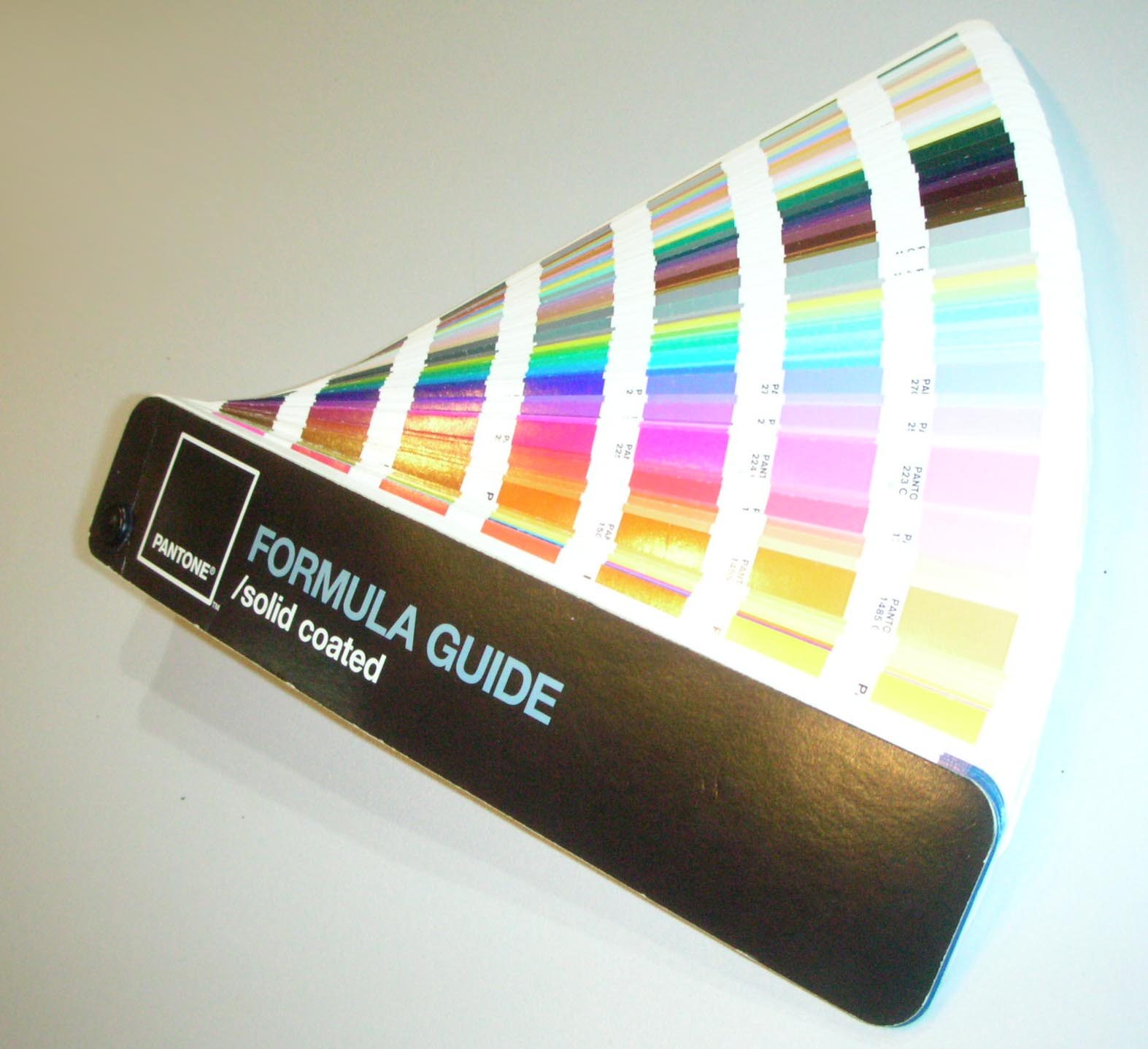 Pantone colour guide promotional products