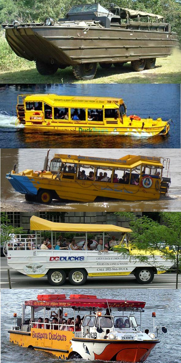 Duck Tour sight seeing promotional products