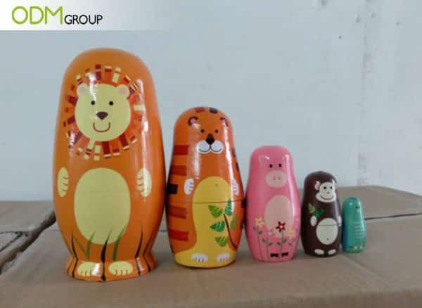 Promotional Packaging - Russian Custom Nesting Dolls