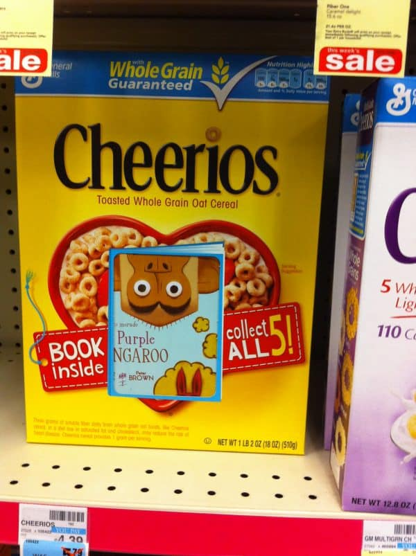Cheerios Children Book In-Pack Promotion