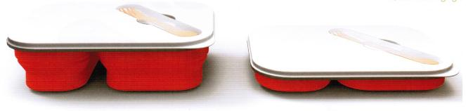 Promotional silicone lunchbox
