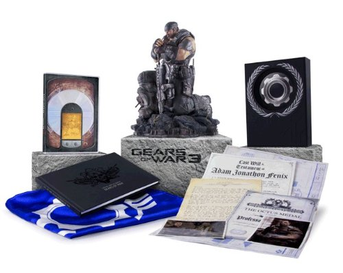 Gears of war 3: limited and epic editions unveiled gameranx.