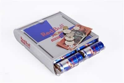 POS Coin Tray - Red Bull Promo Merchandising