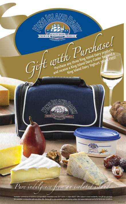 King Island Dairy Promotional Gift