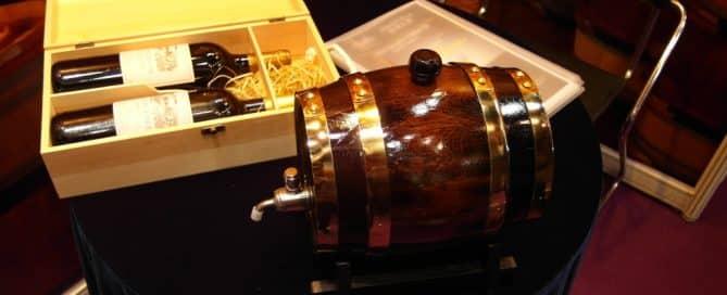 Luxury Wine Promotional Gift - Wine Barrel