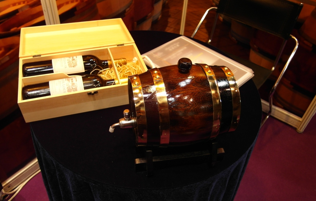 Luxury Wine Promotional Gift - Wine Barrel