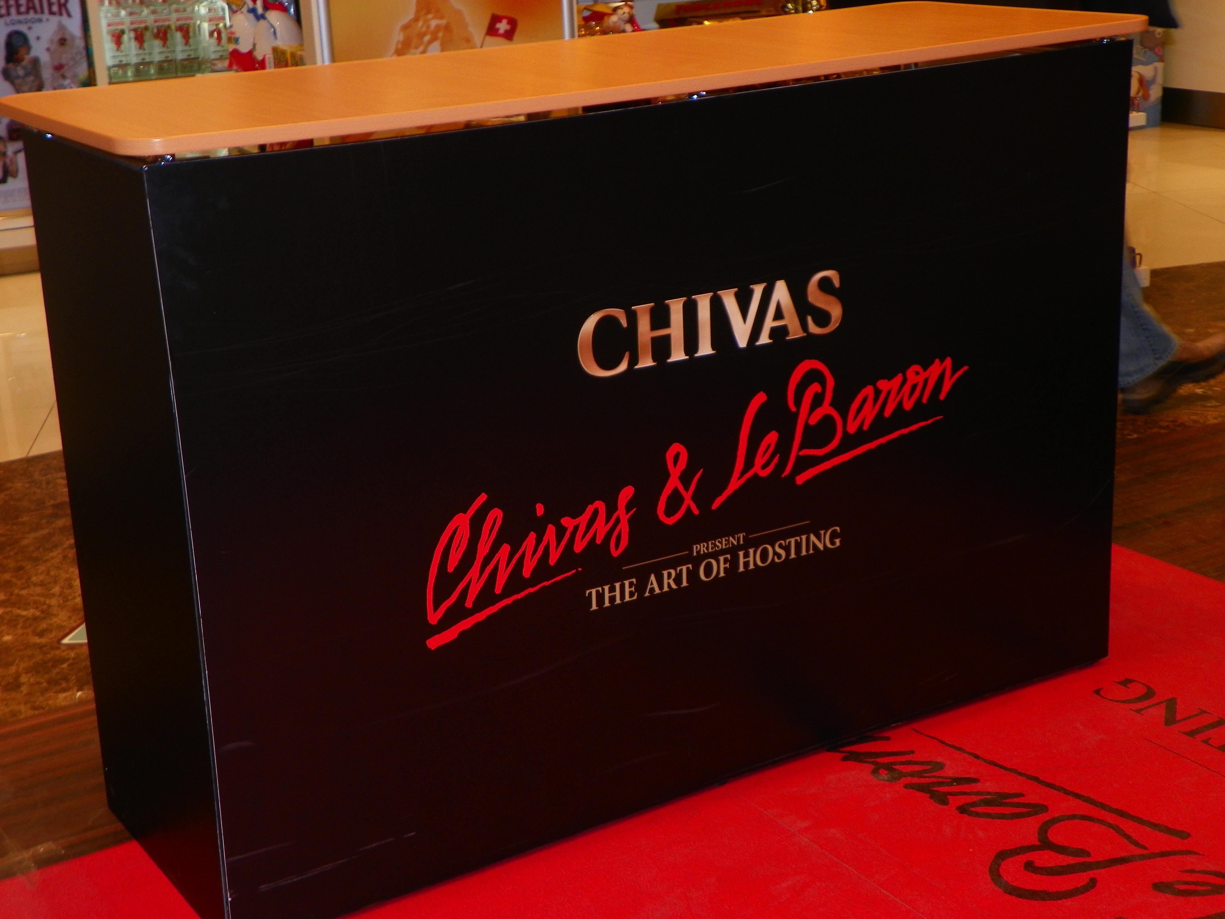 e38008c7e Chivas Promos – Tasting Bar at Moscow Airport POS