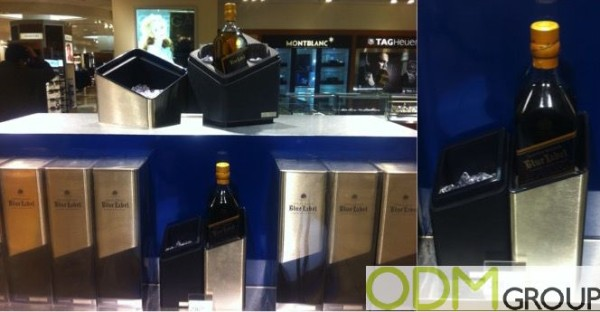 Promotional ice bucket - Marketing by Johnnie Walker Blue Label