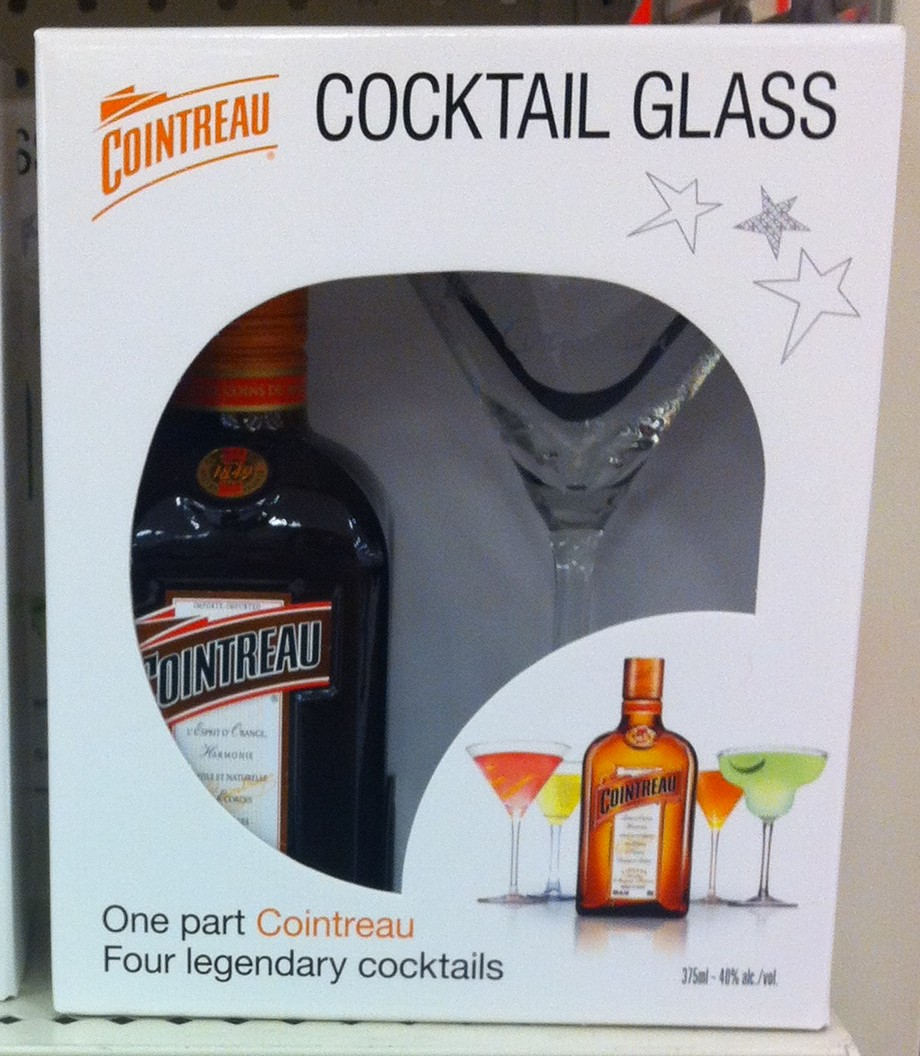 Promotions GWP - Cointreau Glasses Cocktail Glass