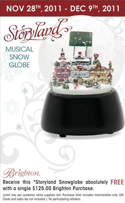 GWP Promo snow globe