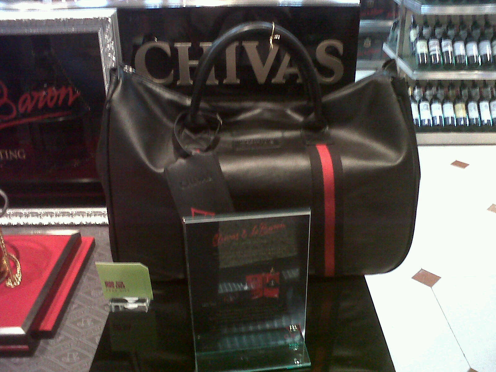 48d667281 Duty Free Promotion – Gift Leather Bag by Chivas