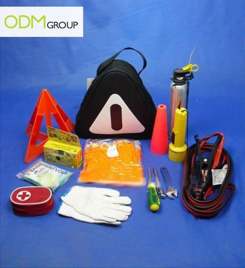 gas station promo safety kits