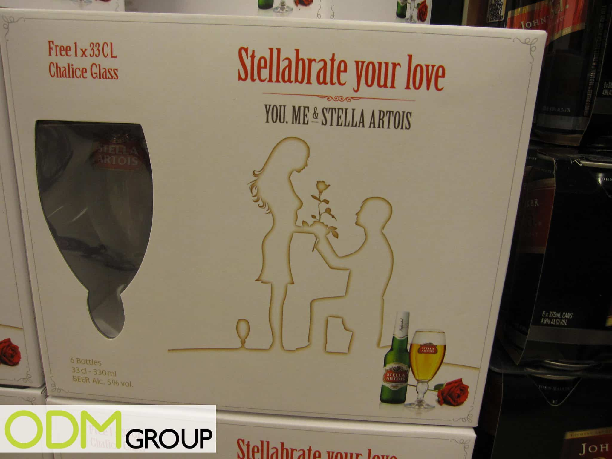 & Stella Artois On-Pack Promotional Glass - The ODM Group