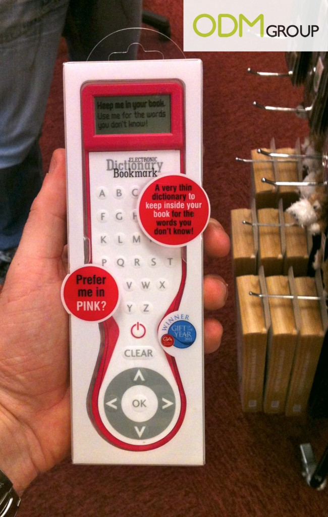 Promotional Gift - Electronic Dictionary Bookmark