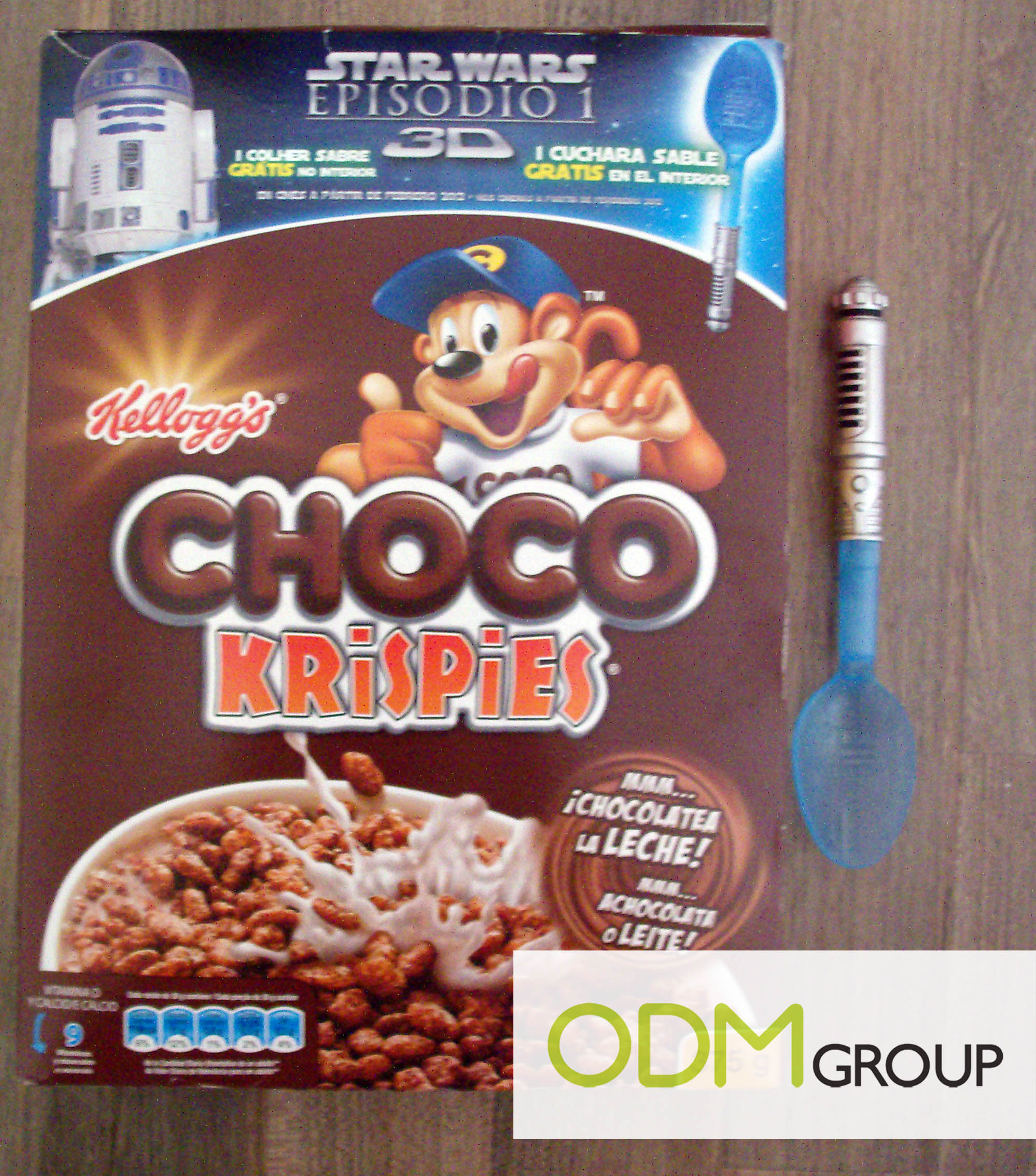 promotional product spain star wars spoon by kellogg s