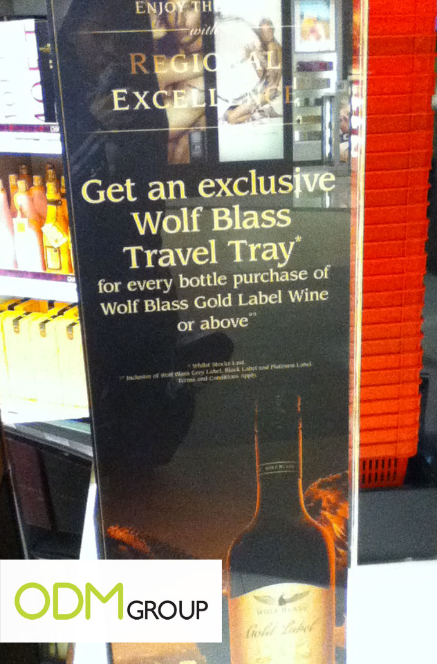 Wine Promos Singapore: Travel Trays for Corporate Events/Promotional Campaigns