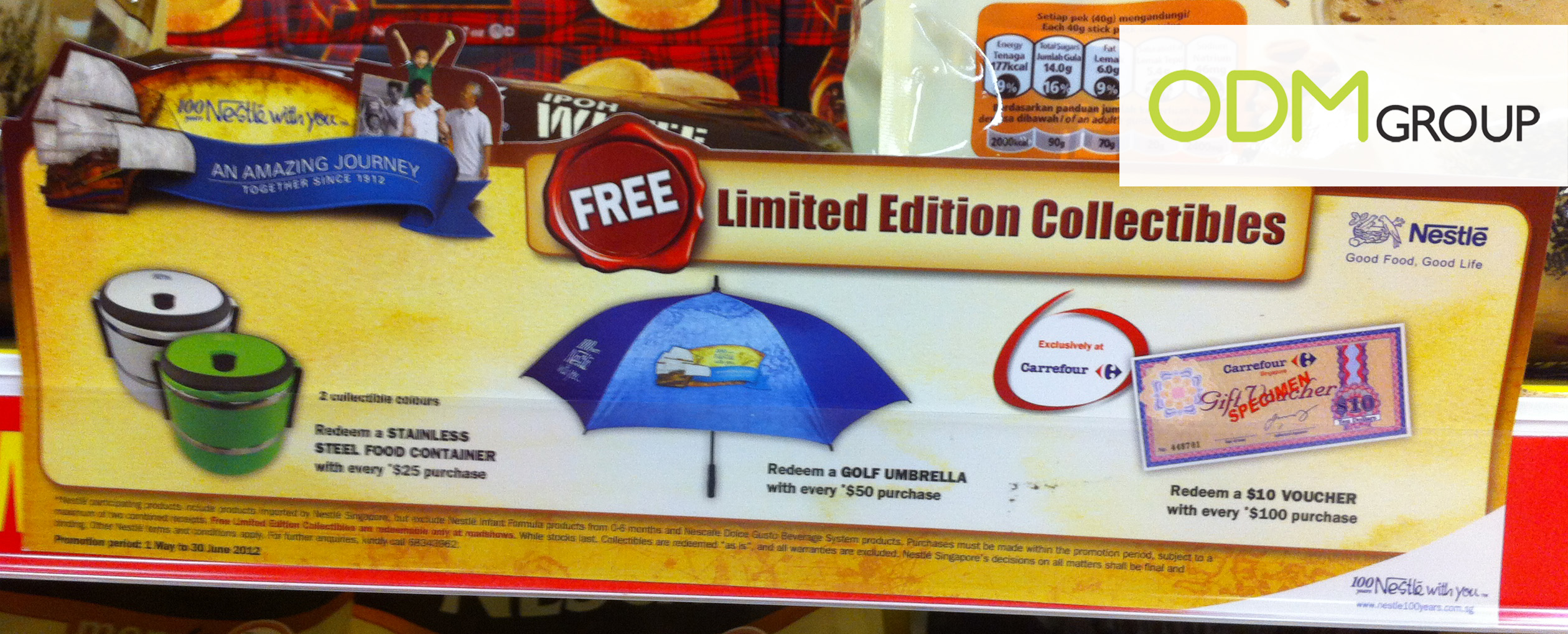 Promotional Gift Singapore - Nestle Limited Edition Collectibles