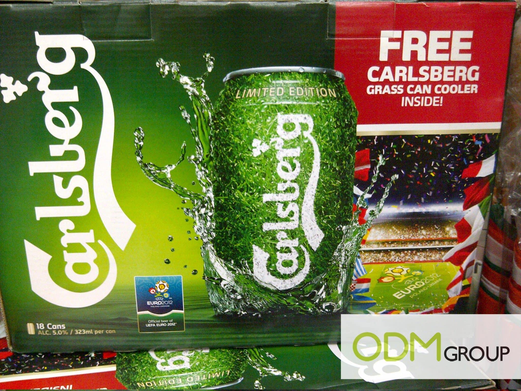 Beer Promos Carlsberg Grass Can Cooler Gwp