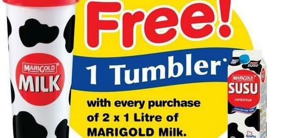 Marigold Promotional Tumbler