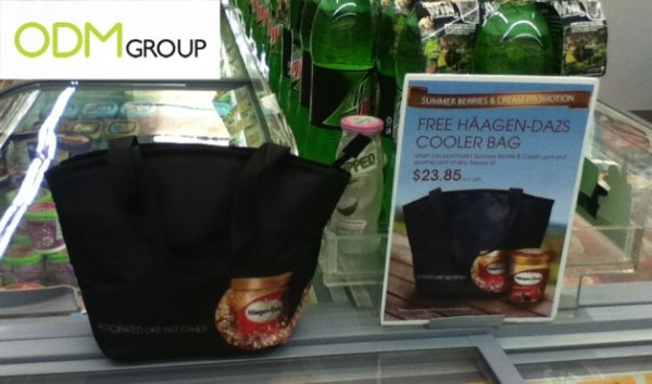 Promotional Cooler Bag - Haagen Dazs GWP in Singapore