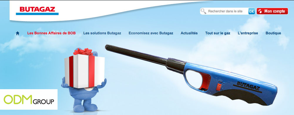 Promotional Product France - Butagaz Welcoming Lighter