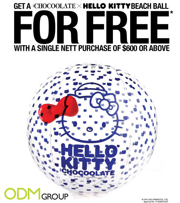 Hello Kitty Promotional Gifts by :CHOCOOLATE (Beach Ball)