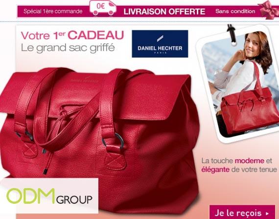 GWP France - Daniel Hechter handbag by Ricaud