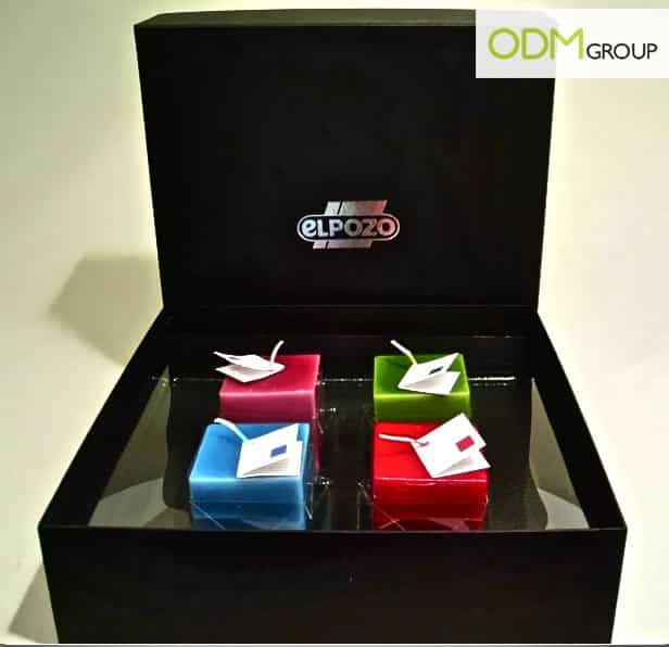 promo ideas candle box by el pozo the odm group. Black Bedroom Furniture Sets. Home Design Ideas