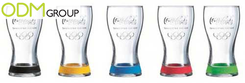 GWP France - Olympic Games Glasses by Mac Donald's and Coca-Cola