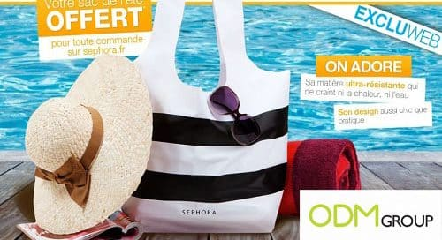 GWP France - Summer bag by Sephora