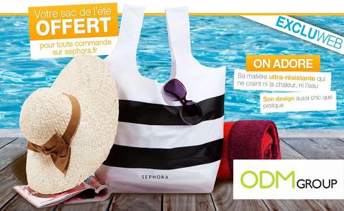 GWP France - Summer bag by Sephora