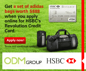 HSBC Credit Card Promotion Gift – Adidas Bag