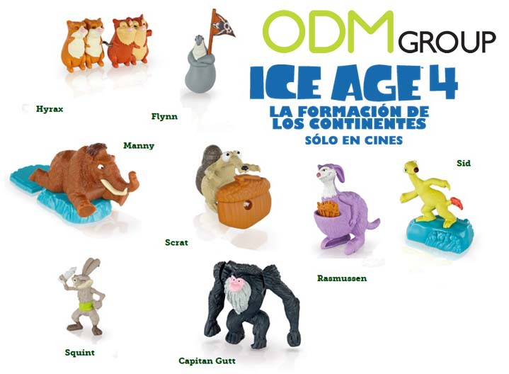 Spain Gwp Mcdonald S Happy Meal Ice Age 4