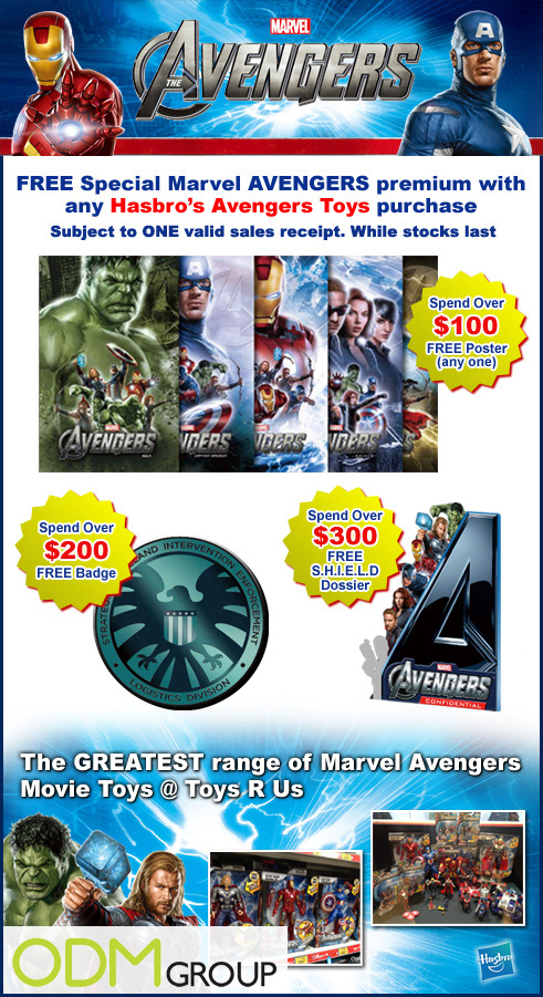 Incentive Product Hong Kong - Advengers gifts by Toys R Us