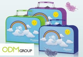 PWP Promotion France - Baby Suitcases by Mustela